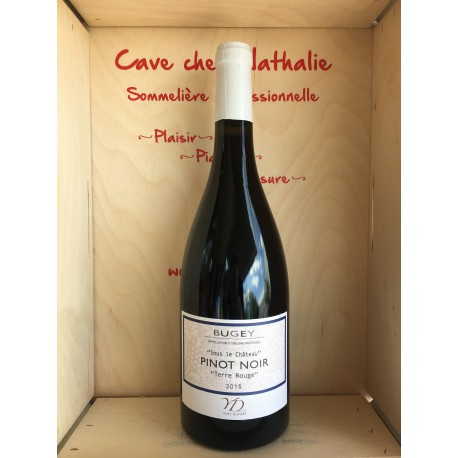 Bugey Pinot Noir 2015 rouge Terre Rouge 75cl