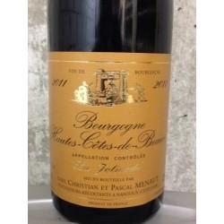 Hautes Côtes de Beaune La Jolivode - Domaine de la Jolivode - Bourgogne rouge 75cl