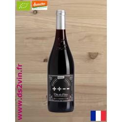 Côtes du Rhône cuvée ++-- rouge Bio Demeter - Domaine des Carabiniers - 75cl