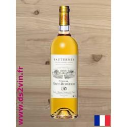 Sauternes | Château Haut-Bergeron | Blanc 75cl