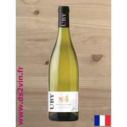 Côtes de Gascogne Uby n°4 - Domaine Uby - Blanc 75cl