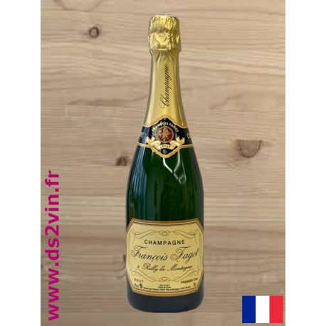 "Champagne brut ""Premier Cru""   Champagne François Fagot"