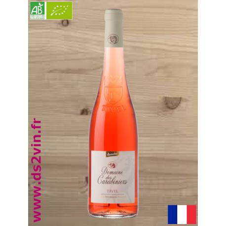 Tavel rosé Bio - Domaine des Carabiniers - 75cl