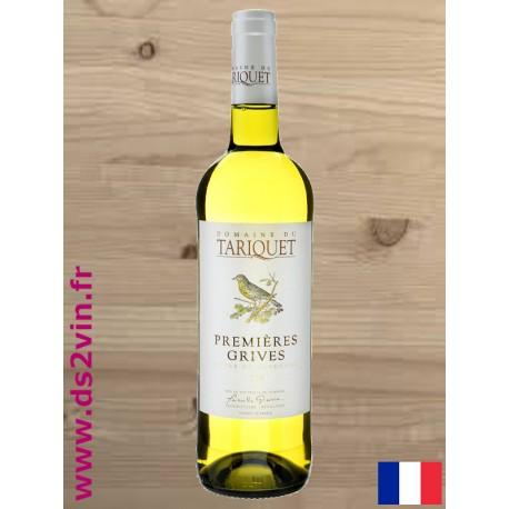 IGP Côtes de Gascogne Premières Grives - Domaine Tariquet