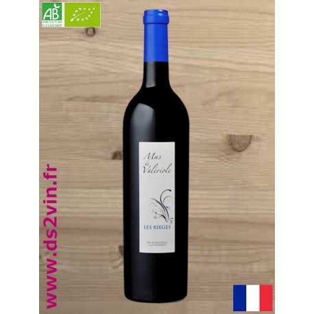 IGP Bouches du Rhône Bio Les Rièges | Mas de Valériole | Vin Rouge 75cl