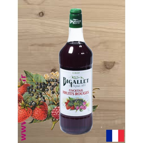 Sirop Cocktail Fruits Rouges - Bigallet