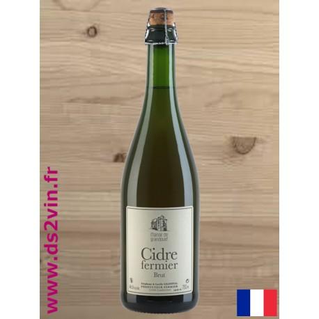 Cidre Brut Fermier - Manoir de Grandouet