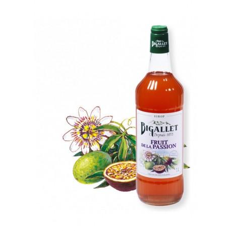 Sirop Fruit de la Passion - Bigallet - 1 litre