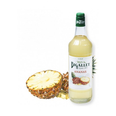 Sirop d'Ananas - Bigallet - 1 litre