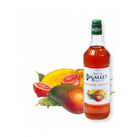 Sirop Mangue Goyave - Bigallet - 1 litre
