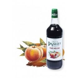 Sirop Thé Pêche - Bigallet - 1 litre