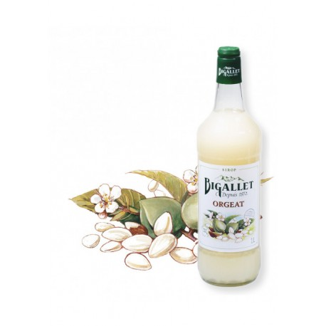 Sirop d'Orgeat - Bigallet - 1 litre