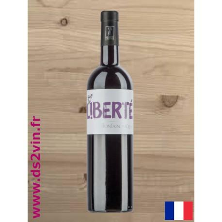 IGP Vaucluse cuvée Soif de Liberté rouge - Fontaine du Clos - 75cl