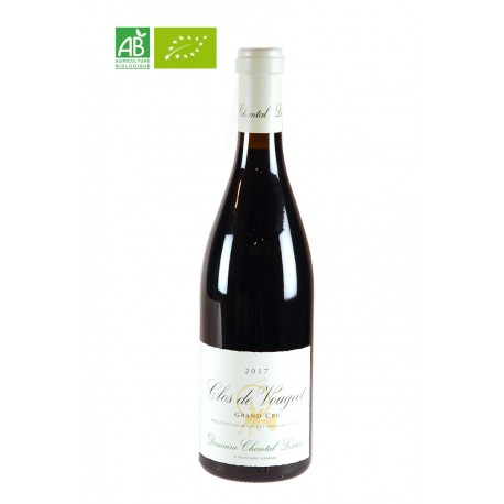 Clos de Vougeot Grand Cru rouge Bio - Domaine Chantal Lescure - 75cl
