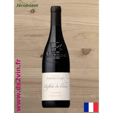 Vacqueyras Reflets de l'âme rouge - Fontaine du Clos - Jéroboam 300CL