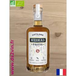 Pastis artisanal Meskad Bio - Le Distiloire - 45° 70cl