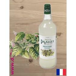 Sirop de Menthe Glaciale - Bigallet - 1 litre
