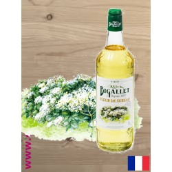 Sirop de Fleur de Sureau - Bigallet - 1 litre