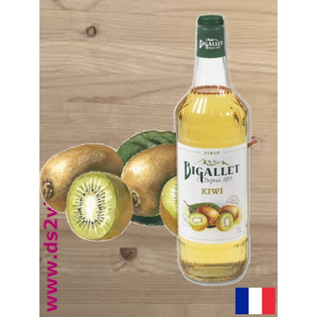 Sirop de Kiwi - Bigallet - 1 litre