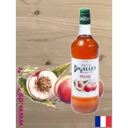 Sirop de Pêche - Bigallet - 1 litre