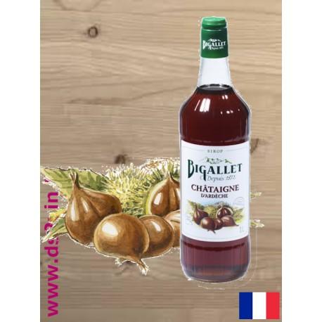 Sirop de Châtaigne - Bigallet - 1 litre
