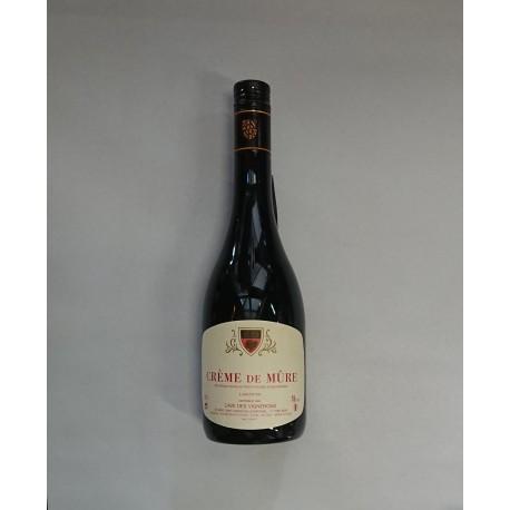 Crème de Mûre - Les Vignerons de Buxy - 18° 70cl