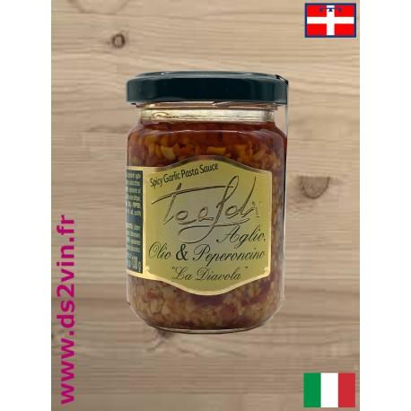 Sauce forte ail et piment -Teadi - 130g