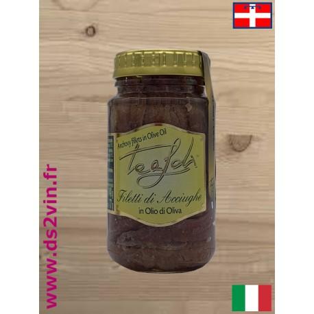 Filets d'anchois à l'huile d'olive - Tealdi - 140g