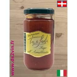 Sauce tomate épicée all'arrabbiata - Tealdi - 180g