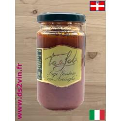 Sauce tomate savoureuse aux anchois - Tealdi - 180g