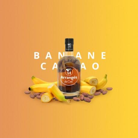 Rhum Arrangé Banane Cacao - Les Rhums de Ced - 35cl