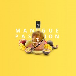 Rhum Arrangé Mangue Passion - Les Rhums de Ced - 35cl