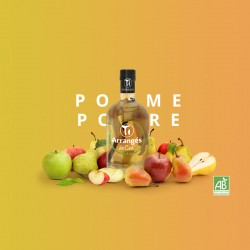 Rhum Arrangé Pomme Poire Bio - Les Rhums de Ced - 35cl