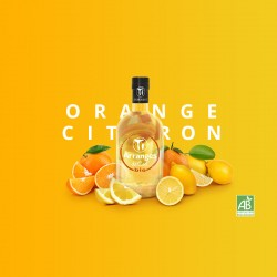 Rhum Arrangé Orange Citron bio - Les Rhums de Ced - 35cl