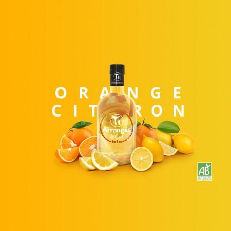 Rhum Arrangé Orange Citron bio - Les Rhums de Ced - 35cl