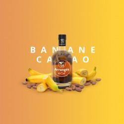 Rhum Arrangé Banane Cacao - Les Rhums de Ced - 70cl