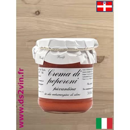 Crème de poivrons et piments - Riolfi Sapori - 180g