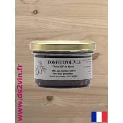 Confit d'olives de Nyons - Les Combes Chauves - 90g