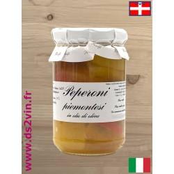 Poivrons Piémontais à l'huile - Riolfi Sapori - 280g