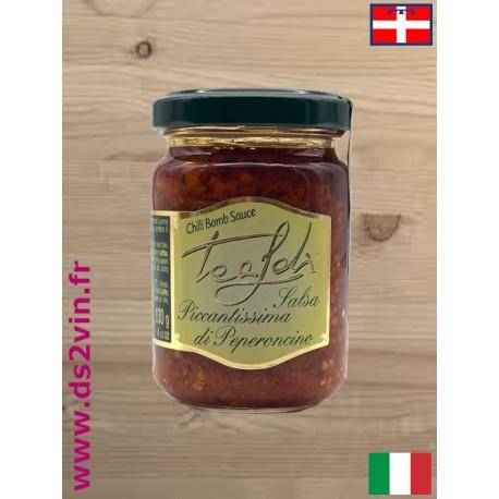 Sauce piquante aux piments - Tealdi - 130g