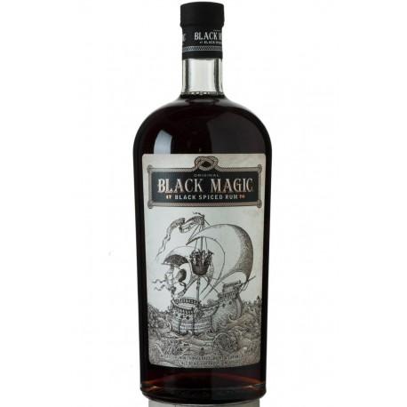 Rhum Black Magic - Black Spiced - 70cl 40°