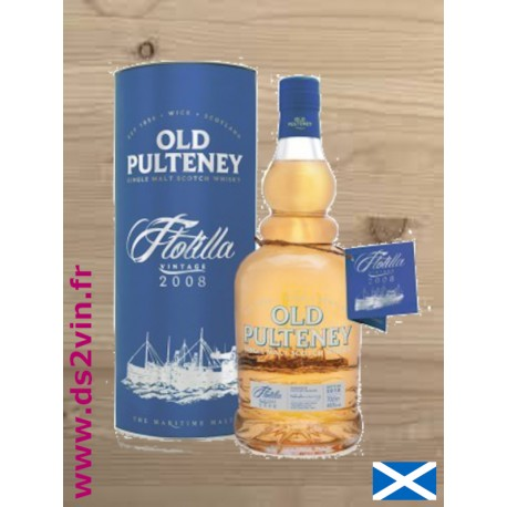 Whisky Old Pulteney - Flotilla 2008 - 70cl 46°