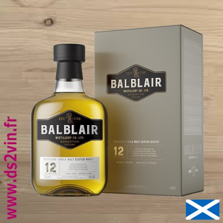 Whisky Balblair 12 ans - 70cl 46°