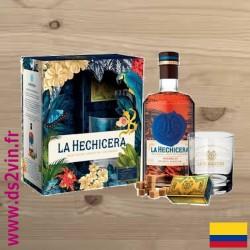 Rhum Coffret Hechicera - Solera 21 – Reserva Familiar - 70cl 40°