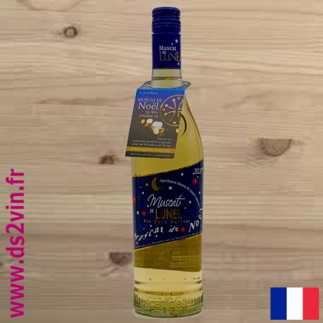 Muscat de Noel 2020 - les vignerons de Lunel- 70cl