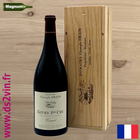 Magnum Givry 1er Cru Crausot rouge - Domaine Christophe Drain