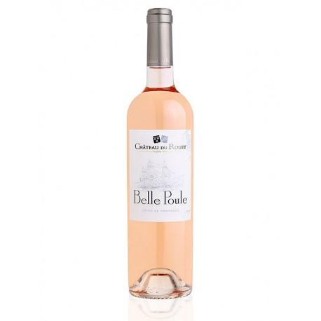 Magnum Côtes de Provence Belle Poule   Château Du Rouët  Rosé BIO 150cl
