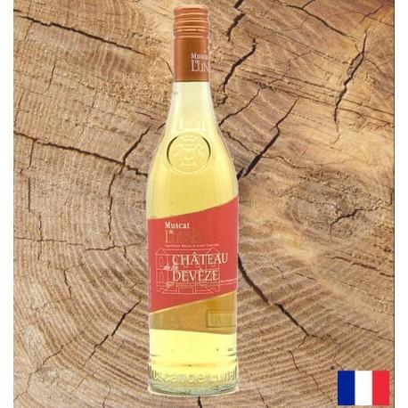 Muscat de Lunel - chateau de Devèze - Vin Doux Naturel -70cl