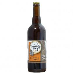 Bière Ambrée Artisanale Bio | L'Air Du Temps | Les Bières Du Temps - 75cl