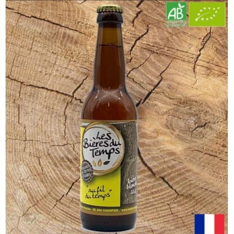 Bière Blonde Artisanale Bio | Au Fil Du Temps | Les Bières Du Temps - 33cl